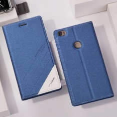 TScase PU Leather Flip Cover with Stand Holder For Xiaomi Mi Max 2 6.44''