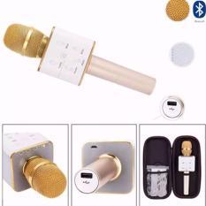 TUXUN Q7 Wireless KTV Karaoke Microphone Bluetooth Speaker(Gold) Philippines