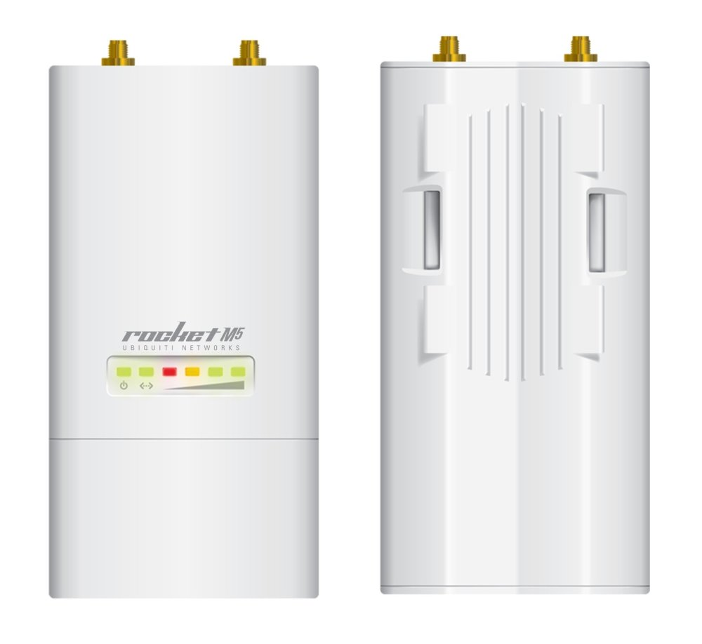 Ubiquiti Rocket M5 5GHz Long Range Wifi Basestation (White)