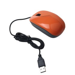 UJS Design 1600 DPI USB Wired Optical Gaming Mice Mouse For PC Laptop Orange (Intl)