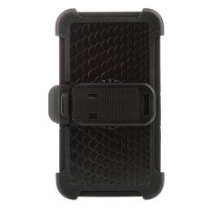 ULAK Silicone Hard Case with Belt Clip Holster Kickstand for Samsung Galaxy Note 4