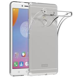 "Ultra Slim Case for Lenovo K6 Note 5.5"" Soft TPU Transparent Protector Cover - intl"