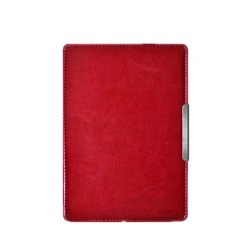 Ultra Slim Leather Case for New Amazon Kindle Paperwhite 5 (Red)