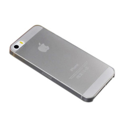 Ultra Thin 0.3mm Back Hard Case Skin For Apple iPhone 5 5S Grey