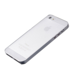 Ultra Thin 0.3mm Back Hard Case Skin For Apple iPhone 5 5S White