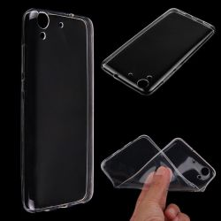 Ultra Thin 0.3mm TPU Clear Transparent Case Cover For Huawei Honor 5A / Y6 II 2