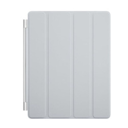 Ultra Thin Leather Smart Cover for Apple iPad 2 3 4 (Grey)