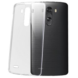 Ultra-thin Protective TPU Back Cover for LG G3  (Translucent)