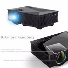 Unic UC46 Mini WIFI Projector UC46 LED 1200 Lumens Presentation Projector  (Black)