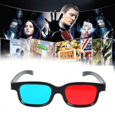 Universal 3D Glasses Anaglyph Glasses Red and Blue Lenses Wrap TV Video  Games - intl deb2b18e2e