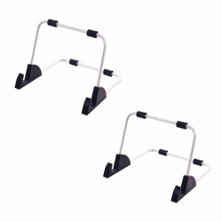 Universal Stand for iPad and Tablet Set of 2 (Silver)