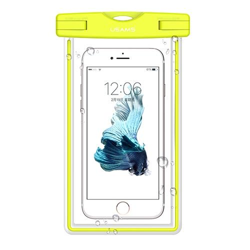 USAMS Universal Waterproof Transparent Touchable Pouch Underwater Phone Bag for 6 Inch intl