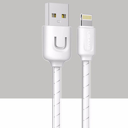 Usams USB Cable 1 M 2A Usb Chargeur Fil Sync Cable Donnees Pour Apple IOS System(White) - Intl product preview, discount at cheapest price