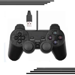 Usb 2.0 Shocks Game Gaming Controller Joypad Joystick Control For Pc Computer Laptop