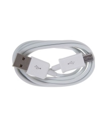 USB Cord Data Cable Sync for Samsung Galaxy S I9000 (White) with free Fingertip Gypro (color may vary)