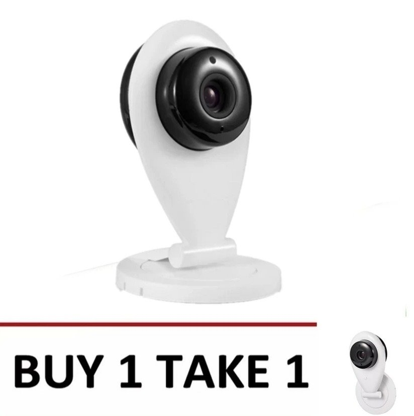 V380 Indoor Wireless Security Camera (White) Buy 1 Take 1
