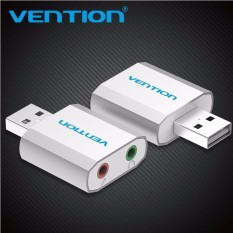 Vention External Usb Sound Card Usb To Jack 3.5mm Headphone Adapter Audio Mic Sound Card For Winxp/7/8/10 Chrome Os Headsets By Great S Enterprises