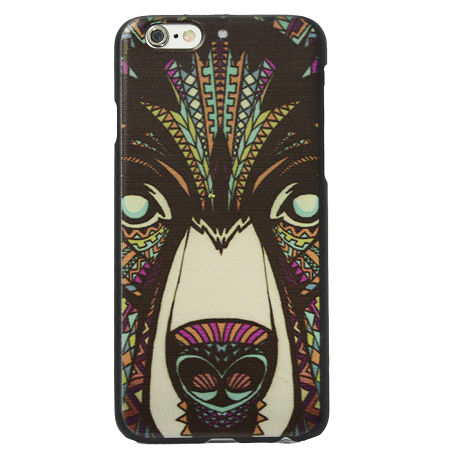 Vococal Protective Case for iPhone 6 Plus Wolf Painted