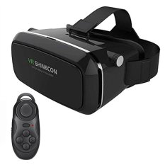 82435c6496df VR Box 3D Headset Virtual Reality Glasses With Bluetooth Controller - intl
