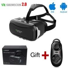 VR SHINECON ii 2.0 VR Headset, VR Goggles 3D VR Glasses Virtual Reality VR Box