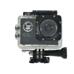 W8 2.0 Inch 1080p HD 12MP 170Wide Lens WiFi Sports DV Action Camera (Black)