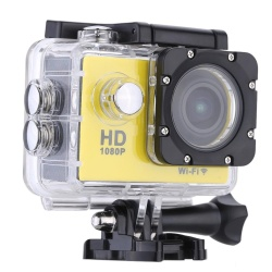 "W9B 1080P 30FPS Max 12MP Wifi Waterproof 30M Shockproof 170Wide Angle 2.0"" Screen Outdoor Action Sports Camera Camcorder Digital Cam Video HD DV Car DVR - intl"