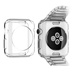 Watches Screen Case TPU Abrasion-resistant Anti-scratch Screen Protector Shell for Apple Watch