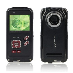 Waterproof 2.0in LCD 16MP Digital Video Camcorder Camera 4x ZOOM DV BK - intl