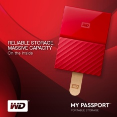 WD My Passport 1TB 2 5 USB 3 0 Portable External Hard Drive  (WDBYNN0010BRD-WESN) (Red)