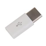 White USB 3.1 Type C Male to Micro USB Data Adapter Converter - thumbnail 5