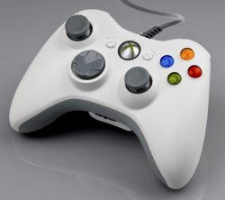 Wired Controller for XBOX 360 (White)