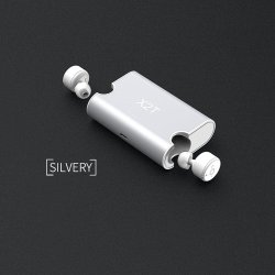 Wireless Earbuds TWS Mini Headphone Bluetooth CSR4.2 Earphone Stereo with Magnetic Charger Box Case for for iphone and andriods (Silver) - intl