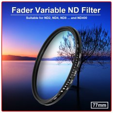 Xcsource 77mm Fader Variable Nd Filter Neutral Density By Xcsource Shop.