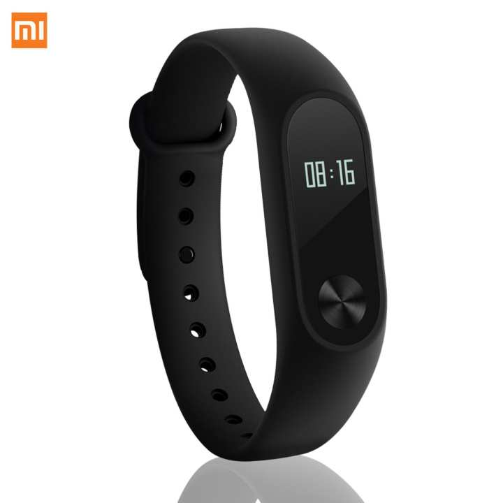 Xiaomi Mi Band 2 Digital Smart Band Heart Rate Monitor Fitness (Black)