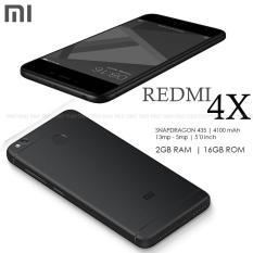 Xiaomi Redmi 4X 2GB RAM 16GB ROM 13MP 5MP Camera Octa-Core Dual SIM 4G