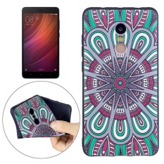 Xiaomi Redmi Note 4X / Note 4 National Wind Disk Pattern Stereo Relief TPU Protective Back