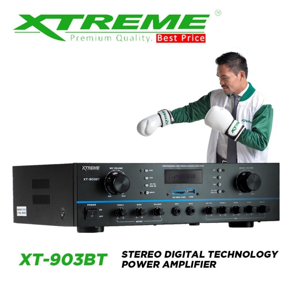 Xtreme XT-903BT Stereo Digital Technology Power Amplifier (Black)