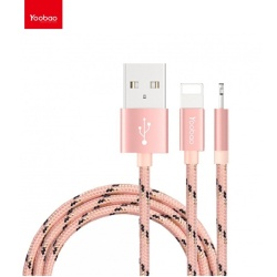 Yb422 Apple Lightening Cable 100Cm (Pink Ribbon)