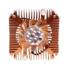 YBC 55mm Cooler Cooling Fan for CPU VGA Video Card Bronze Mini Professional - intl