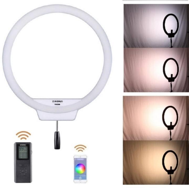 Yongnuo Yn308 Led 5500k Wireless Ring Smd Light For