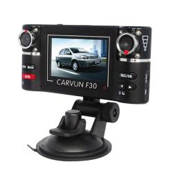 yoouino Dual Lens Car DVR Vehicle Video Recorder Dash Camera Camcorder (Black)