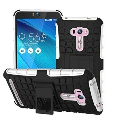 Zenfone Selfie ZD551KL 5.5 inches Case Heavy Duty Double Rugged Protection Hybrid Shockproof Cover Case with