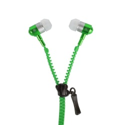 Zipper Super Bass 98dB In-Ear Headphone (Green)
