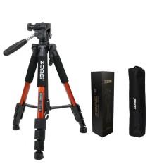 Zomei Q111 Professional Tripod Portable Pro Aluminium Tripod Accessories Camera Stand Orange - intl