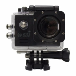 Zover 12MP HD DV 1080P Wifi Sports Camera (Black)