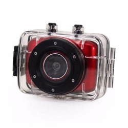 Zover HD Video Camcorder DV123 (Red)