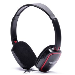 Techno Tamashi TH-780 Over-the-Headphones (Red)