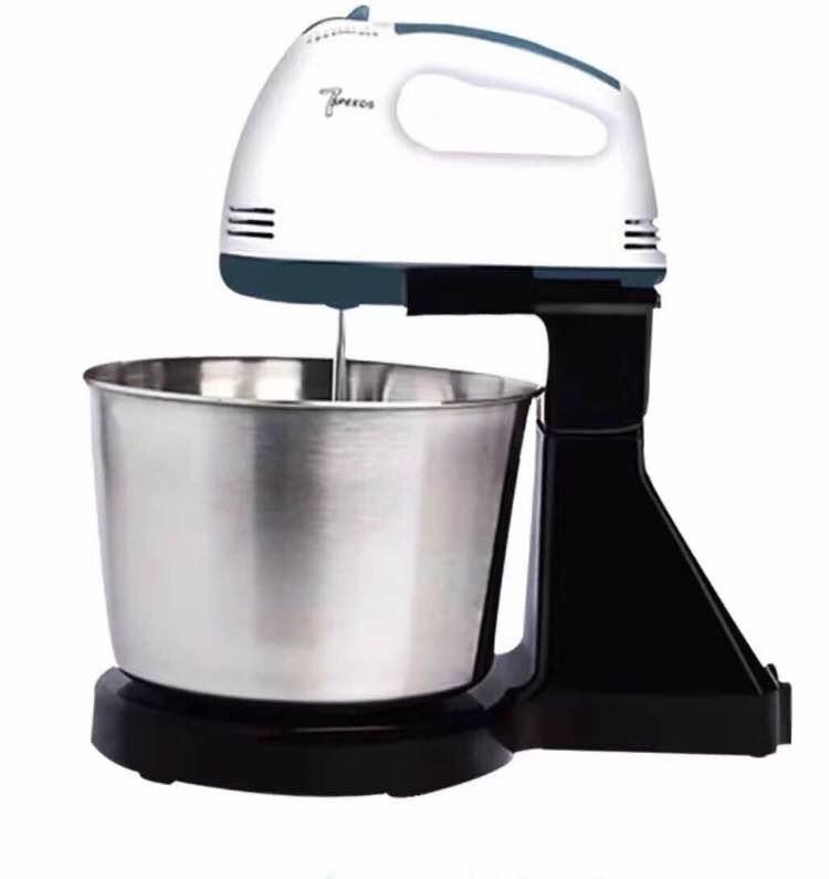 ☆COD SCARLETT 180W 7-Speed Electric Mixer with stainless steel bowl