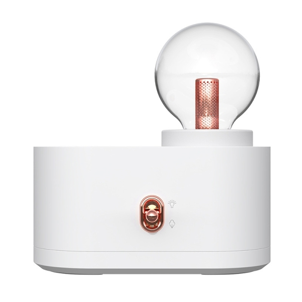 Air Humidifier, USB Bulb Shape Hand-Held Mistmaker with Light for Home Singapore
