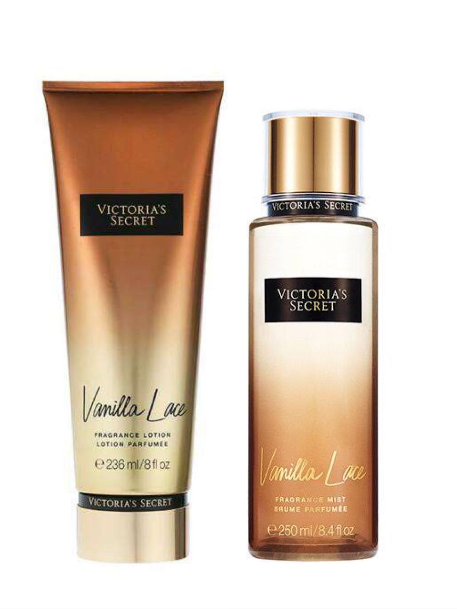 06fc1a8c4f5c NEW VICTORIA SECRET Vanilla lace Perfume 250ml and Vanilla lace fragrance  lotion 236ml sale